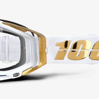 100% Racecraft LTD Clear Lens Goggles Image 3