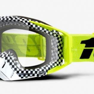 100% Racecraft Andre Clear Lens Goggles Image 4