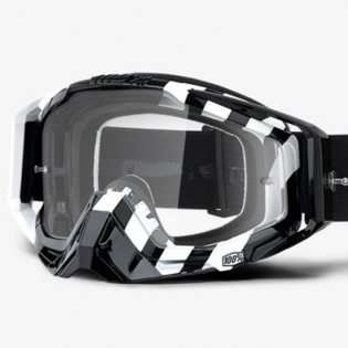 100% Racecraft Alta Clear Lens Goggles Image 2