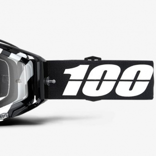 100% Racecraft Alta Clear Lens Goggles Image 3