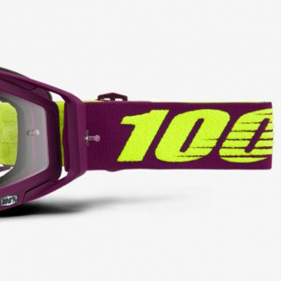 100% Racecraft Klepto Clear Lens Goggles Image 3