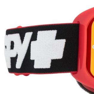 Spy MX Woot Slice Red Smoke Lens Goggles Image 2
