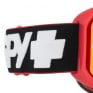 Spy MX Woot Slice Red Smoke Lens Goggles