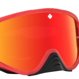 Spy MX Woot Slice Red Smoke Lens Goggles Image 3