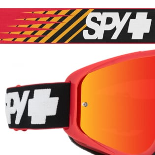 Spy MX Woot Slice Red Smoke Lens Goggles Image 4