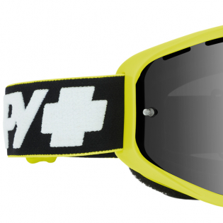 Spy MX Woot Slice Green Smoke Lens Goggles Image 2