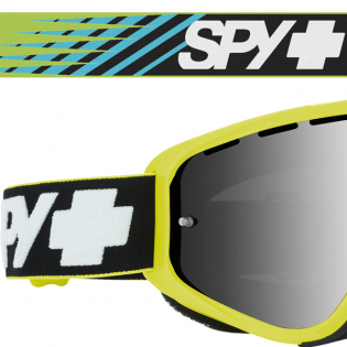 Spy MX Woot Slice Green Smoke Lens Goggles Image 4