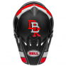 Bell MX9 MIPS Twitch Replica Matte Black Red White Helmet
