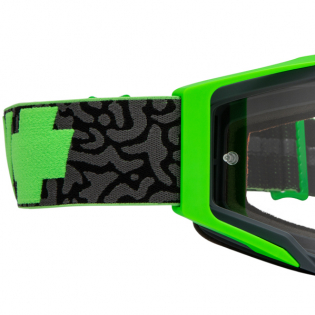 Spy MX Foundation Maze Green HD Clear Lens Goggles Image 2