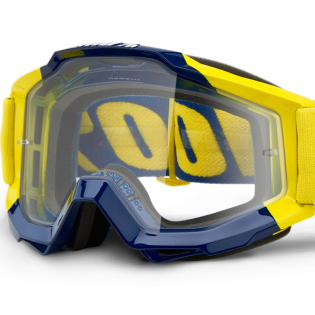 100% Accuri Supply Clear Lens Goggles Image 2