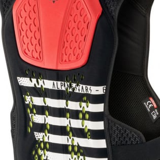 Alpinestars Sequence Black White Red Chest Protector Image 4