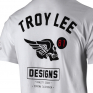 Troy Lee Designs T Shirt Agent Skully White