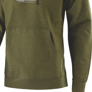 Troy Lee Designs Hoodie Technical Fade Army Green Image 4