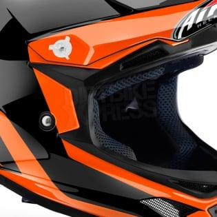 Airoh Archer Junior Kids Chief Orange Gloss Helmet Image 4