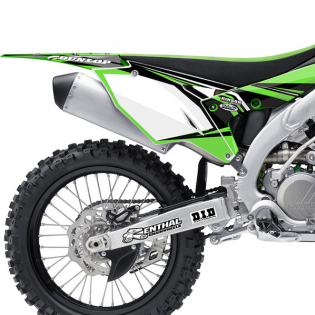 FLU Designs PTS 4 Kawasaki KX Graphics Kit Image 2