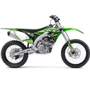 FLU Designs PTS 4 Kawasaki KX Graphics Kit Image 3