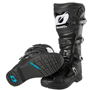 ONeal RMX Black Motocross Boots Image 4