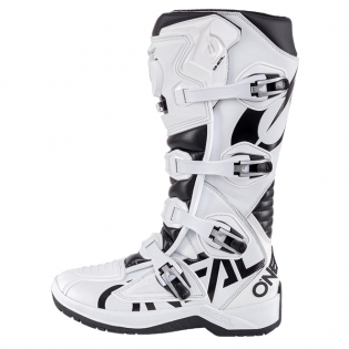 ONeal RMX White Black Motocross Boots Image 2