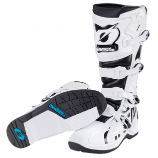 ONeal RMX White Black Motocross Boots Image 3