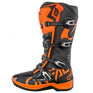 ONeal RMX Orange Motocross Boots Image 2