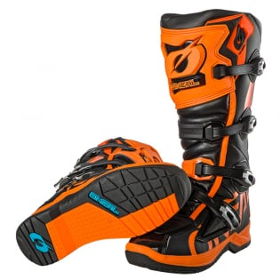 ONeal RMX Orange Motocross Boots Image 3