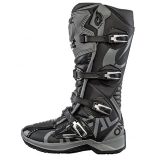 ONeal RMX Black Grey Motocross Boots Image 2