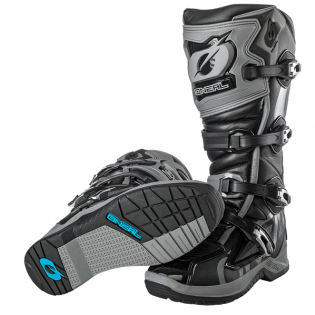 ONeal RMX Black Grey Motocross Boots Image 3