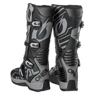 ONeal RMX Black Grey Motocross Boots Image 4