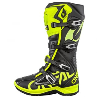 ONeal RMX Neon Yellow Motocross Boots Image 2