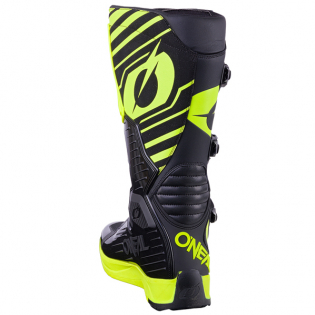 ONeal RMX Neon Yellow Motocross Boots Image 3
