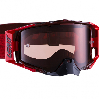 Leatt 6.5 Velocity Ruby Red Rose Lens Goggles Image 2
