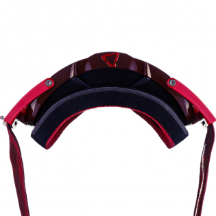 Leatt 6.5 Velocity Ruby Red Rose Lens Goggles Image 4