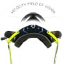 Leatt 6.5 Velocity Ink White Yellow Clear Lens Roll Off Goggles