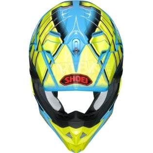 Shoei VFX-WR Glaive Yellow TC2 Helmet Image 2