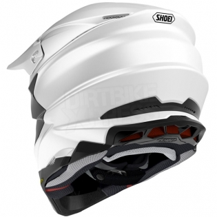 Shoei VFX-WR Grant3 Black Red TC1 Helmet Image 4
