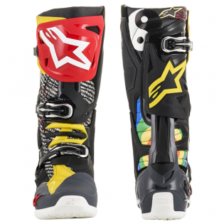Alpinestars Tech 10 Limited Edition Cactus Rainbow Boots Image 2