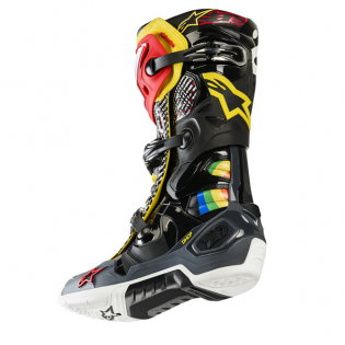 Alpinestars Tech 10 Limited Edition Cactus Rainbow Boots Image 3