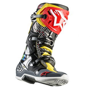 Alpinestars Tech 10 Limited Edition Cactus Rainbow Boots Image 4