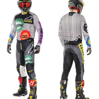 Alpinestars Racer Tech Ltd Ed Cactus Rainbow Pants Image 2