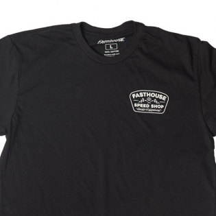 Fasthouse Grease Monkey Black T Shirt Image 2