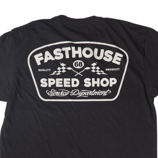 Fasthouse Grease Monkey Black T Shirt Image 4