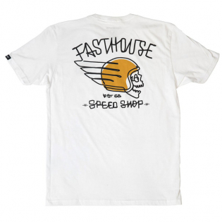 Fasthouse Heretic White T Shirt Image 3