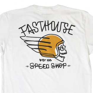 Fasthouse Heretic White T Shirt Image 4