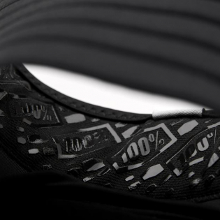 100% Fortis Black Elbow Guards Image 4