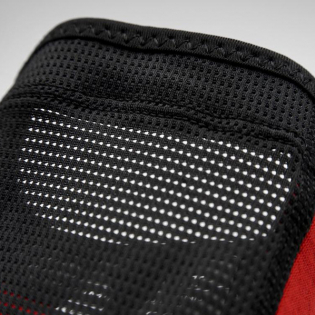 100% Ridecamp Red Black Elbow Guards Image 2