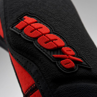 100% Ridecamp Red Black Elbow Guards Image 3