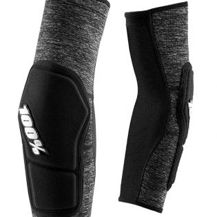 100% Ridecamp Grey Heather Elbow Guards Image 4