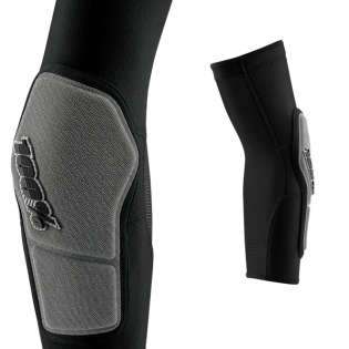100% Ridecamp Black Elbow Guards Image 4