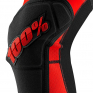 100% Ridecamp Red Black Knee Guards