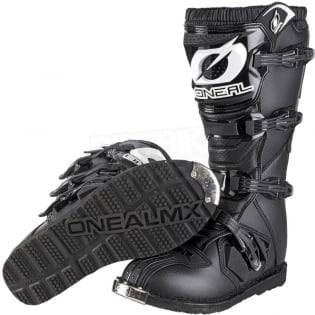 ONeal Rider Black Boots Image 2